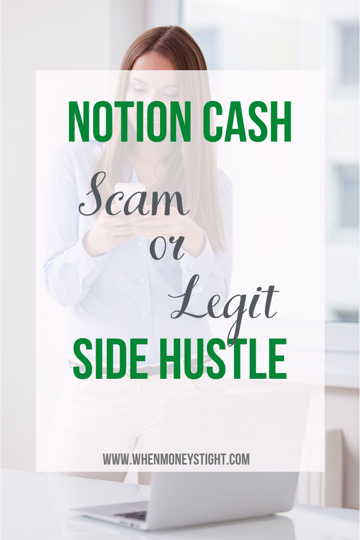 Notion Cash | Scam or Legit