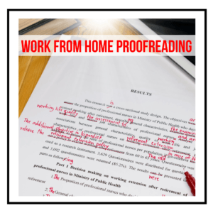 Make Money Proofreading | Work From Home